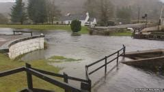 Severe gales leave 4,100 without power - BBC News