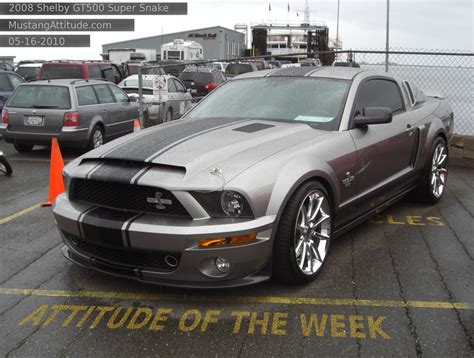 Vapor 2008 Ford Mustang Shelby GT-500 Super Snake Coupe