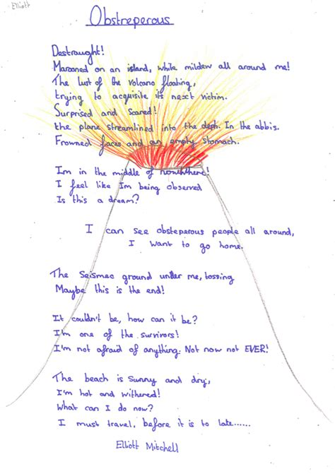 Every Child is a Writer!: Volcano Poems