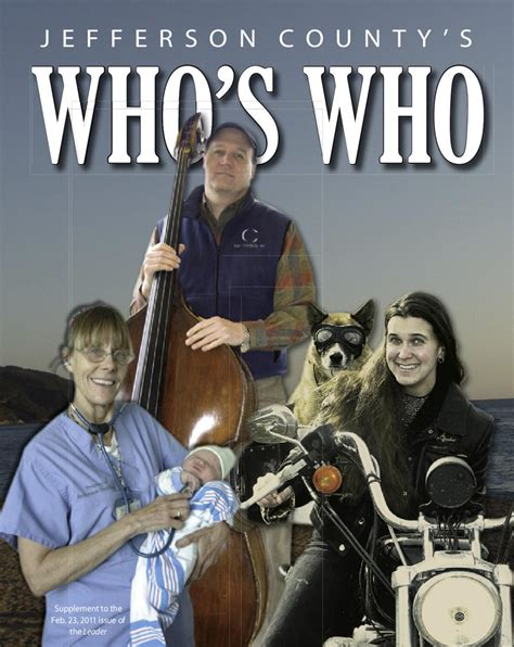 Who's Who 2011 by Port Townsend Leader - Issuu