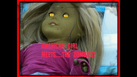 American Girl Doll Camping Roadtrip Adventure with