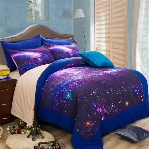 Wholesale 2/Hipster Galaxy 3D Bedding Sets Universe Outer