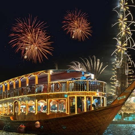 New Years Eve Cruise Dubai 2019 Party with Dinner