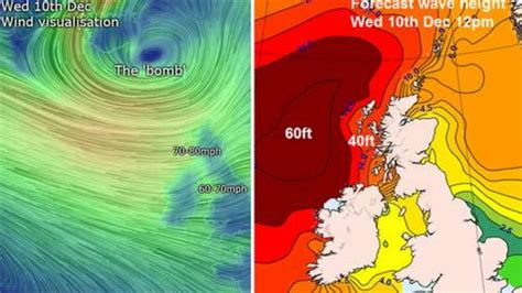 Power restored as 'weather bomb' storm subsides - BBC News