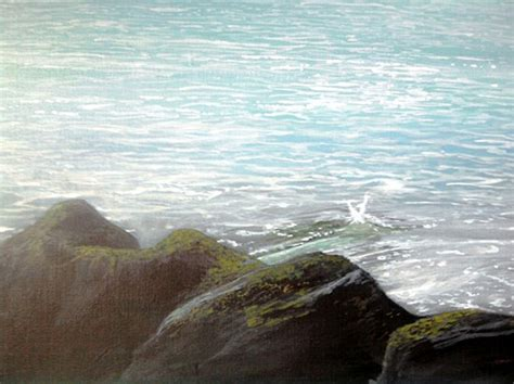 The Ocean Art of Alan Minshull: A Gallery of Realistic
