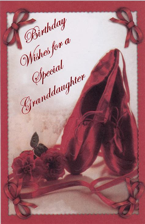 Birthday Granddaughter Adult greeting cards
