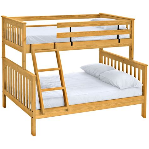 Mission Bunk Bed - Twin Over Full – Crate Designs Furniture