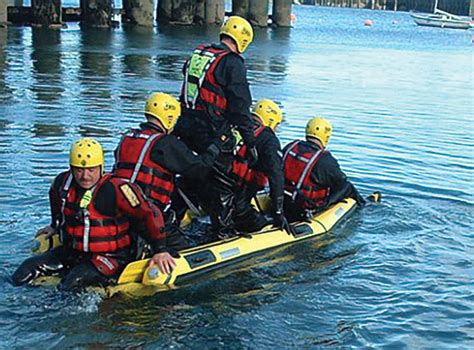 Inflatable Rescue Sled