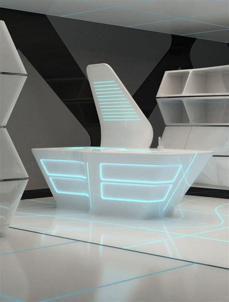 10 Futuristic Office Desks That You Would Love to See