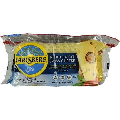 Jarlsberg Lite Reduced Fat Swiss Cheese (32 oz) from