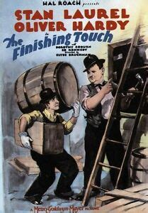 THE FINISHING TOUCH MOVIE POSTER Laurel and Hardy RARE | eBay