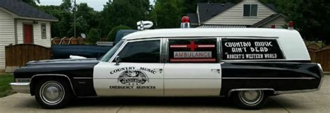 1972 Cadillac Ambulance/Hearse Miller& Meteor for sale