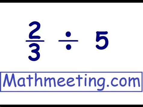 Dividing Fractions 2 - YouTube