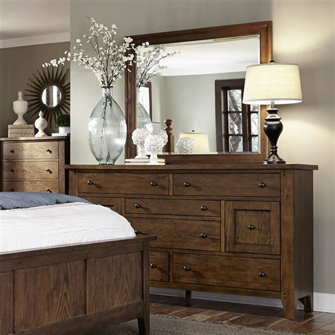 Liberty Furniture - Hearthstone 4 Piece Queen Poster Bed