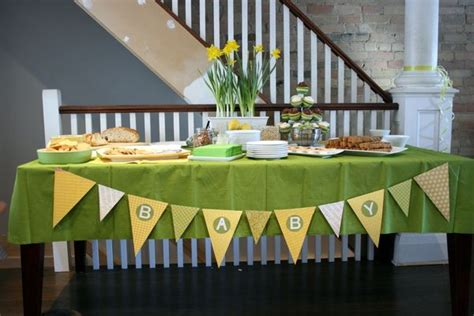 And Sew On: A Green and Yellow Baby Shower for Jen