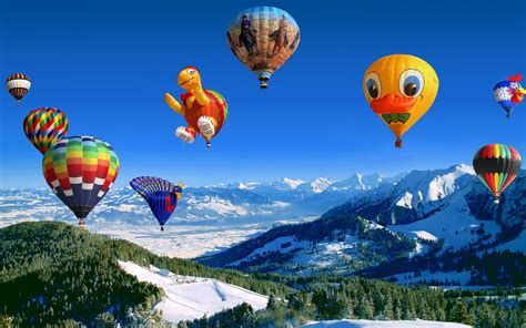Hot Air Balloon Festival Wallpapers | HD Wallpapers | ID
