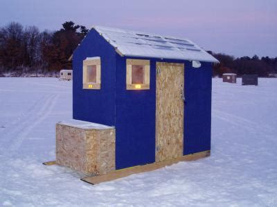 Small Permanent house help please - Ice Fishing Forum | In