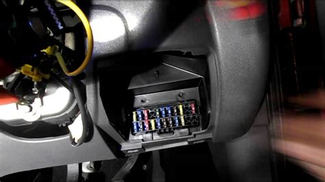 Where are the fuses located on a Ford Fiesta - YouTube