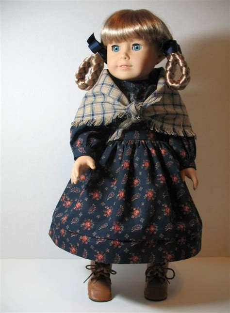 American Girl Kirsten Classic School Dress and Fringed Shawl