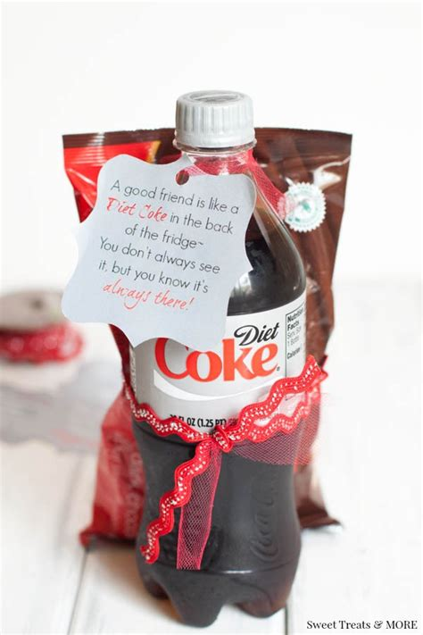 Diet Coke Gift for a Friend + Free Printable - Boys Ahoy