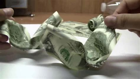 How to make a money/dollar rose - YouTube