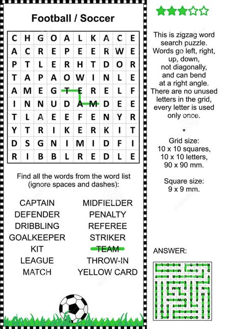Printable Soccer Word Search | Activity Shelter