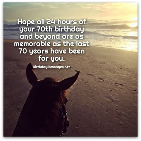 70th Birthday Wishes: Birthday Messages for 70 Year Olds