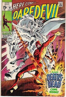 Here Comes Daredevil #56 (And Death's Head Came Riding